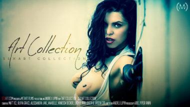 Alessandra Jane, Anabelle, Kira Queen, Lucy Li, Olivia Grace, Vanessa Decker, Jayden Cox, Matt Ice - SexArt Collection - Art Collection